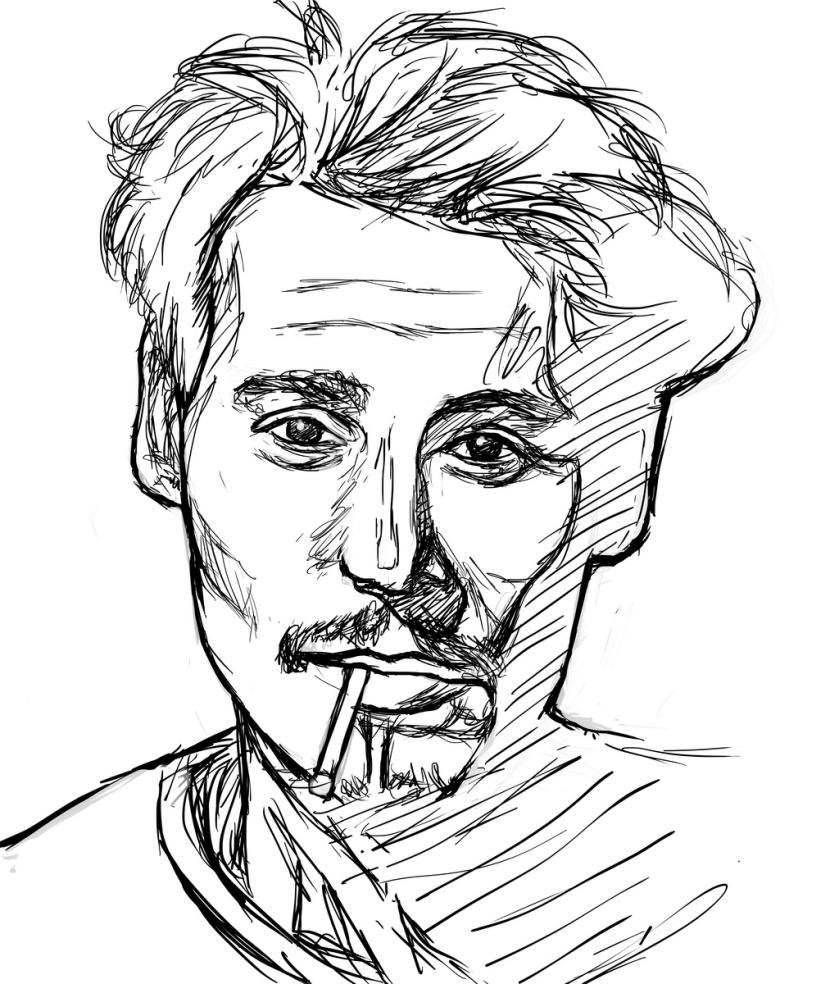 Johnny Depp Lines
