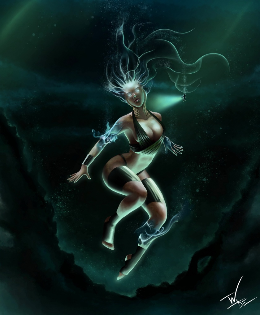 Elemental Goddess Series #2: Water Deity
